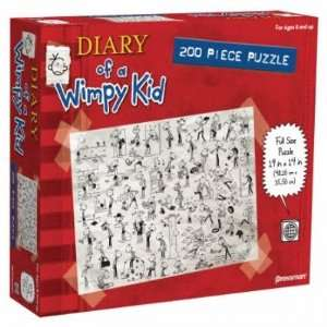 Diary of a Wimpy Kid Book One 200 Piece Jigsaw Puzzle