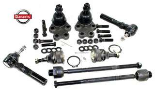 KIT STEERING SUSPENSION PARTS TIE RODS BALL JOINTS 2WD