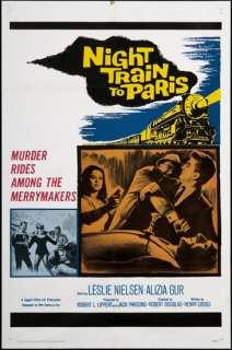 Night Train to Paris 1964 Original U.S. One Sheet Movie Poster