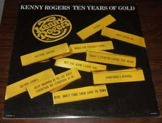 Ten Years of Gold Hits Country Music Vinyl Record Album LP 33