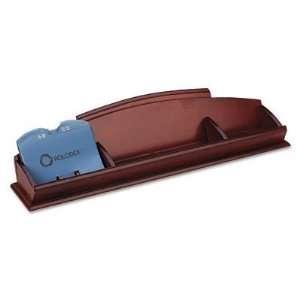 Rolodex 82440 Wood tones contact organizer, 15 3/4w x 4d
