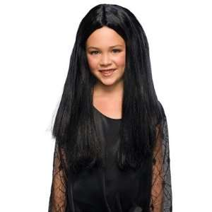 Rubies 50869 The Addams Family Morticia Child Wig: Toys