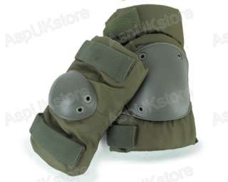 Tactical Knee&Elbow Protective Guard Pad Pads Set Ver2 OD AG