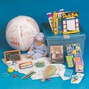 S&S Worldwide Childhood Memories Fun Tub Easy Pack Arts