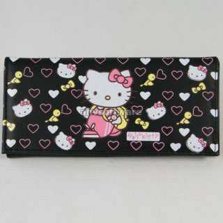 New Cute HelloKitty Birds Girls Wallet Clutch Card Bag Purse Birthday