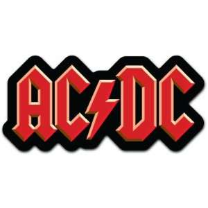 AC DC ACDC Rock Music Car Bumper Sticker Decal 6x3