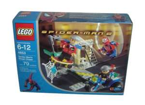 Lego Spider Man 2 s Street Chase 4853