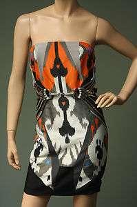 4900 Gucci Spring 2010 IKAT Print Dress w/ Belt