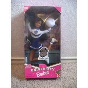 University Barbie African American Cheerleader Doll Toys & Games