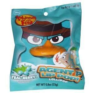 Phineas and Ferb Agent P Lip Pop Party Supplies (Blue): Toys & Games