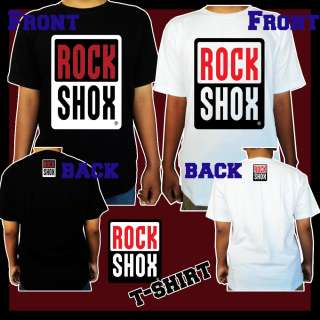 ROCK SHOX T SHIRT MOUNTAIN BIKE RACING BICYCLE TEE