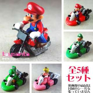 SUPER MARIO BROS KART WII RACING COLLECTION LUIGI CAR