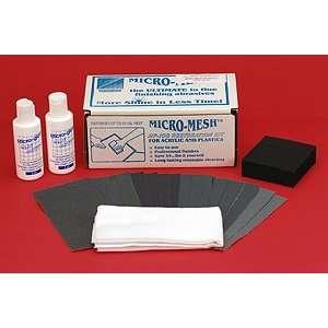Aircraft Tool Supply Micro Mesh Aircraft Window Restoration Kit (60 Sq