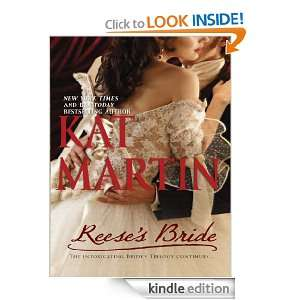 Reeses Bride (The Bride Trilogy) Kat Martin  Kindle