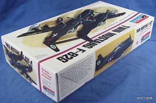American F 82 Twin Mustang Monogram Model Kit #7501 VINTAGE 1973 NEW
