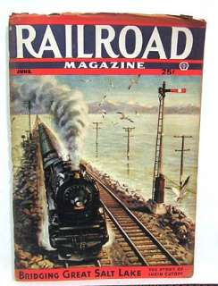 June 1944 RAILROAD MANS Pulp Magazine Railroad Stories