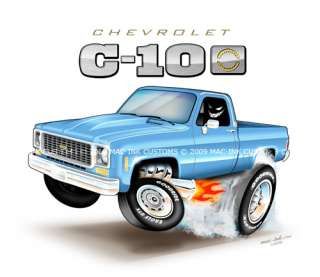 featuring an (73 79) Chevy C 10 Pickup Truck