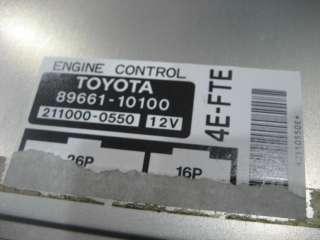 JDM Toyota EP82 Starlet ECU 4E FTE turbo engine control unit Computer