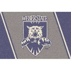 Weber State Wildcats 22 x 33 Team Door Mat