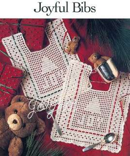 Filet Crochet Baby Bib Patterns : Cafe Curtains Filet Crochet Pattern and Afghan Butterflies ...