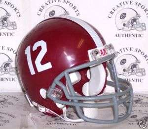 ALABAMA CRIMSON TIDE RIDDELL FOOTBALL MINI HELMET *NEW*