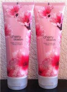 Bath & Body Works CHERRY BLOSSOM Triple Moisture Body Cream Lotion