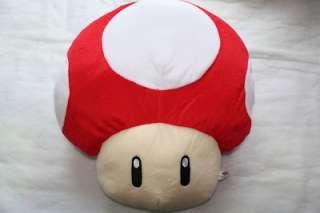 Super Mario Bros 40cm Mushroom Sofa Car Chair Cushion