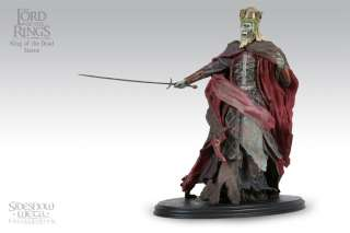 SIDESHOW WETA LORD OF THE RINGS LOTR King of the Dead STATUE Minor
