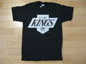 VTG Los Angeles Kings Raiders T shirt starter hat L