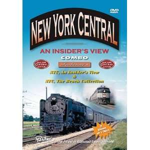 New York Central, An Insiders View Combo Pentrex Movies & TV