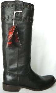 650 NEW SENDRA LEATHER BROWN KNEE HIGH 94980 BOOTS 7
