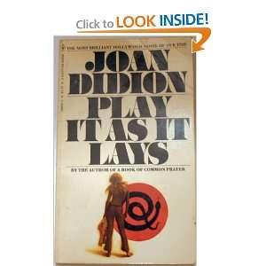 Play I As I Lays Joan Didion Books