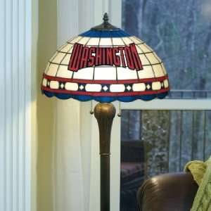 WASHINGTON NATIONALS Team Logo 61 Tall STAINED GLASS FLOOR LAMP (w