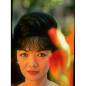 Vietnamese First Familys Madame Ngo Dinh Nhu in Serious Portrait