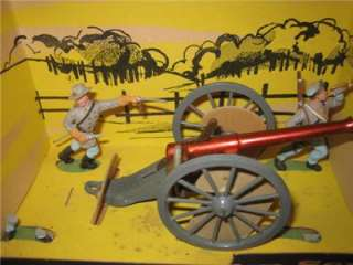 Britains LTD Herald Military American Civil War Confederate w Cannon