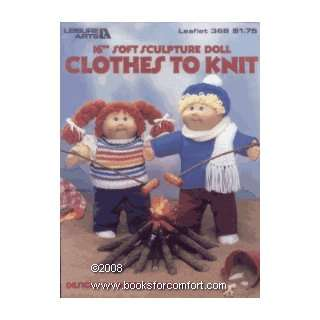 to Knit, 16 Soft Sculptured Doll, Leaflet 368 Barbara Graham Books