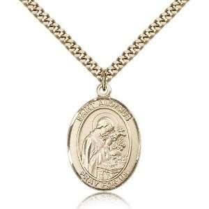 com Genuine IceCarats Designer Jewelry Gift Gold Filled St. Aloysius