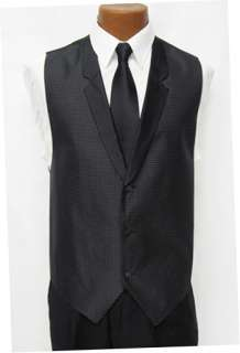 fullback vest accentuated with white dots the included tie is a black