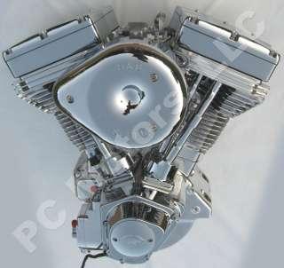 127 POLISHED & CHROME FINISH DRIVELINE ENGINE MOTOR HARLEY S&S ULTIMA