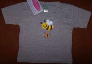 Buzzing Bumble Bee & Beehive Hot Air Balloon Infant Baby or Toddler T