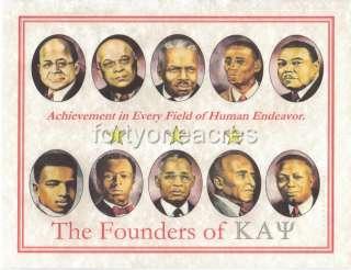 FOUNDERS Series   Kappa Alpha Psi Print   Achievement