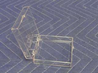 Lot of 10 Multi Purpose Clear Plastic Display Boxes BB56
