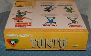 CAPTION ACTION   TONTO 11 ACTION FIGURE   PLAYING MANTIS   1998 0