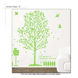 BIG TREE + BIRDS MODERN DECOR ART WALL STICKER REMOVABLE VINYL DECAL 5