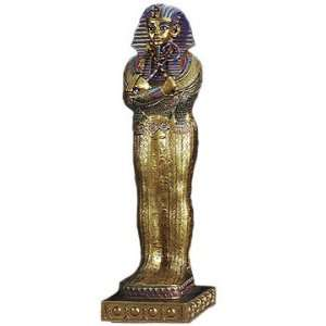 Egyptian Large King Tut Coffin Statue Figurine Ancient Egypt