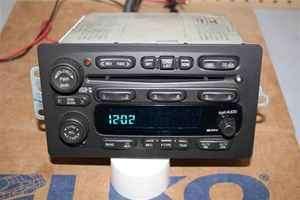 03 04 05 GMC Chevrolet OEM 6 Disc CD Changer Radio UC6