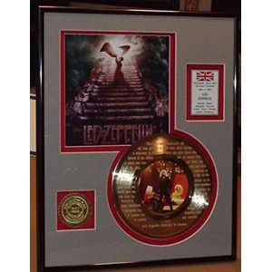 To Heaven Gold Record Limited Edition Collectible