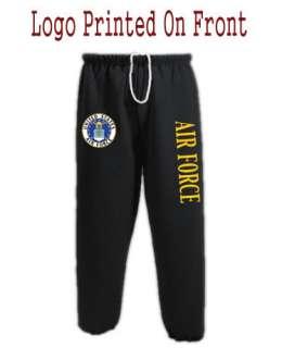 US United States Air Force USAF Sweats Sweatpants #Y