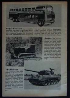 1945 GREYHOUND Highway Traveler BUS Designer Concept pictorial