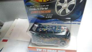 2011 Hot Wheels Mexico Convention VW T1 Drag Bus 1/50 Sellers